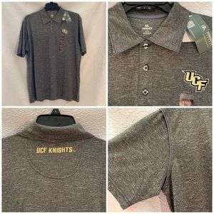Official UCF Knights Embroidered Sports Polo!